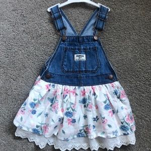NWOT-OshKosh overall dress